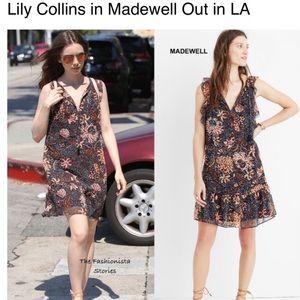 Madewell Lily Ruffle Dress